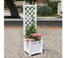 DMC Solid Wood Lexington Trellis Planter