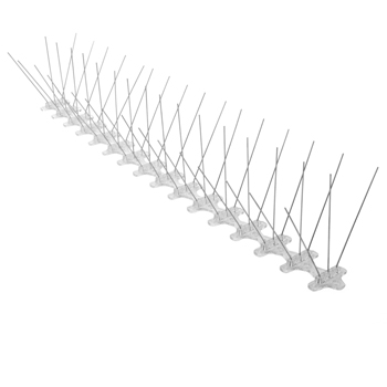 5 In. W x 240 In. D x 4.75 In. H Stainless Steel Bird Spike