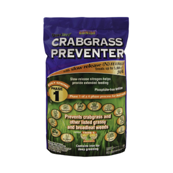 16 lb. Crabgrass Preventer with Slow Release Fertilizer 24-00-8