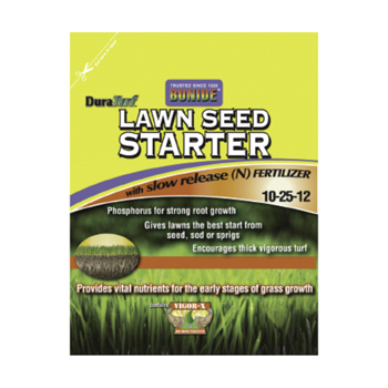 16 lb. Lawn Seed Starter 10-25-12