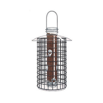 26 in. Domed Cage Shelter Feeder