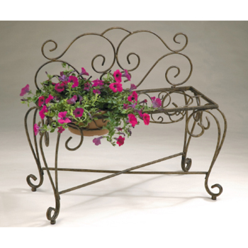 2 Pot  33 In. L x 15 In. D x 29 In. H Bench Planter