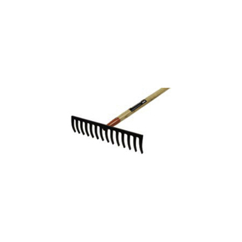 66 in. Bullhead Forged Level Head Rake