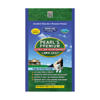 Shady Mix - 25 lb bag of Pearl's Premium Ultra Low Maintenance Lawn Seed