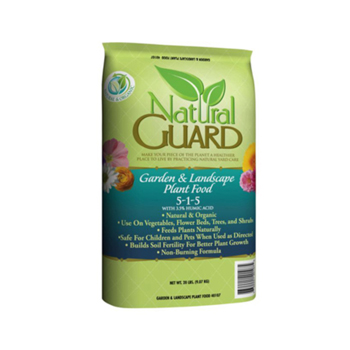 20 lb. Garden and Landscape Plant Food 5-1-1 with Humates