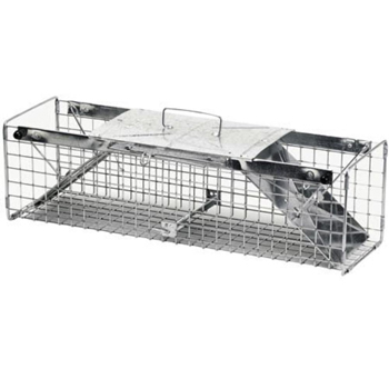 7 in. W x 24 in. L x 7 in. H Two Door Rabbit Trap