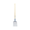 48 in. Long Handle 12 in. 6-Tine Manure Fork