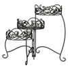 Scroll & Ivy 3-Tiered Folding Plant Stand