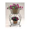 20 in. Metal Round Planter