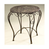 18 In. W x 17 In. D x 17 In. H Round Table