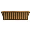 Solera 9 in. x 30 in. Metal Window Box with Coco Liner
