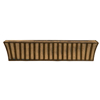 Large Solera 43 In. L x 9 In. D x 9 In. H Window Box with Coco Liner