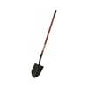 48 in. ProContractor Round Point Shovels with Wooden Handle