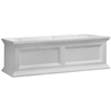 36 inch  Window Box Planter White