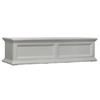 48 in. Fairfield Window Box Planter White