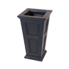 16 GallonTall Patio Planter Black