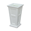 16 Gallon Tall Patio Planter White