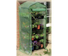"4 Tier Mini Grenhouse With Heavy Duty Cover _ 5'3"" High X 2'3"" Wide X 1'6"" Deep"