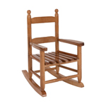 14.5 in. W x 18.5 in. D x 22 in. H Child Rocking Chair, Natural