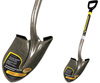 "Round Point Shovel With Fiberglass ""D""- Handle"