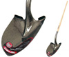 Tru-Pro Round Point Shovel With Wood Handle