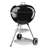 Weber One-Touch Silver Charcoal Kettle Grill